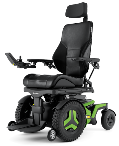 photo of a powerchair