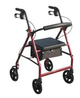 photo of a 4 wheel walker